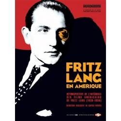Affiche Fritz Lang en Amérique