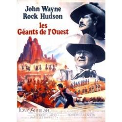 Affiche Les géants de l'ouest
