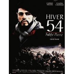 Affiche Hiver 54, l'abbé...