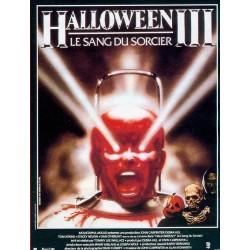 Affiche Halloween 3 le sang...