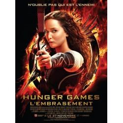 Affiche Hunger games,...
