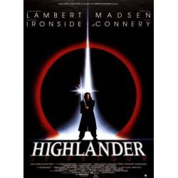 Affiche Highlander le retour