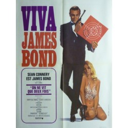 Affiche James Bond : On ne...