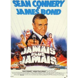 Affiche James Bond : Jamais...