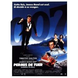 Affiche James Bond : Permis...