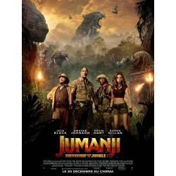 Affiche Jumanji, bienvenue...