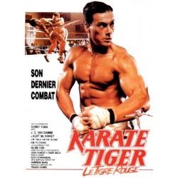 Affiche Karate tiger (le...