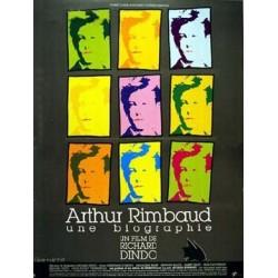 Affiche Arthur Rimbaud une...