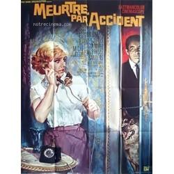 Affiche Meurtre par accident