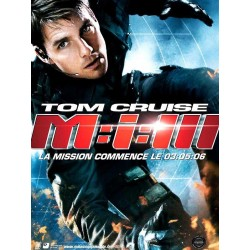 Affiche Mission impossible 3