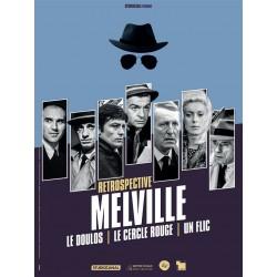 Affiche rétrospective Melville