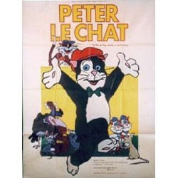 Affiche Peter le chat