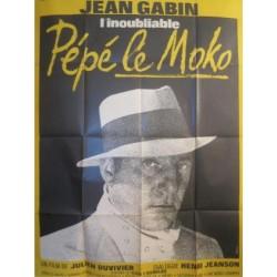 Affiche Pépé le moko