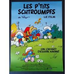 Affiche Les p'tits schtroumpfs
