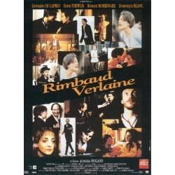 Affiche Rimbaud Verlaine...