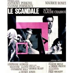 Affiche Le scandale