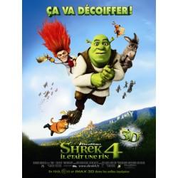 Affiche Shrek 4, il était...