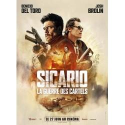 Affiche Sicario : la guerre...