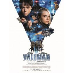 Affiche Valerian
