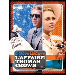 Affiche L'affaire Thomas Crown