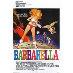 Affiche Barbarella