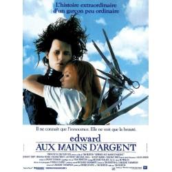 Affiche Edward aux mains...