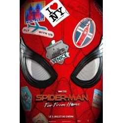 Affiche Spider-man, far...