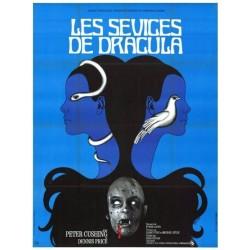 Affiche Les sévices de Dracula