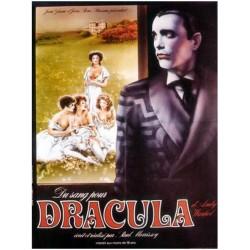 Affiche Du sang pour Dracula