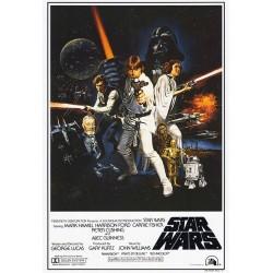 POSTER Star wars sabres laser