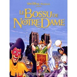 Affiche Le bossu de Notre Dame