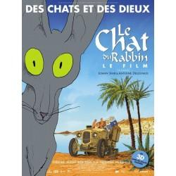 Affiche Le chat du Rabbin