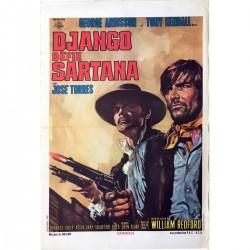 Affiche Django défie Sartana