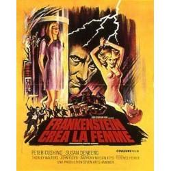 Affiche Frankenstein créa...