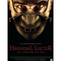 Affiche Hannibal Lecter les...