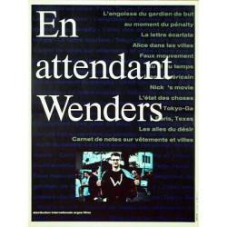 Affiche En attendant Wenders