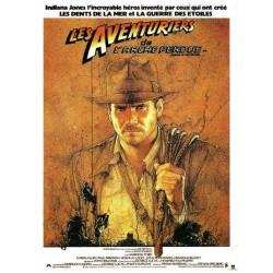 Affiche Indiana Jones - Les...