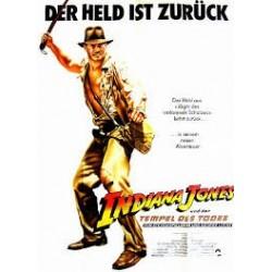 Affiche Indiana Jones et le...