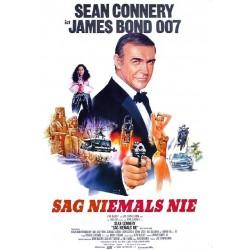 Affiche James Bond - Jamais...