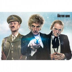 POSTER Doctor Who - Twice...