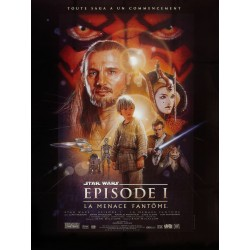 Affiche Star Wars épisode 1...