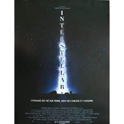 Affiche 60x40cm - Interstellar